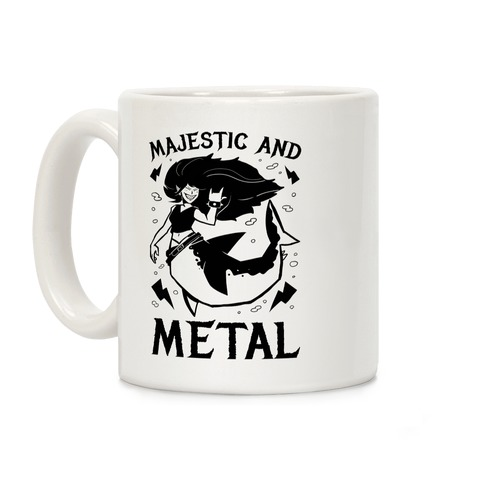 Majestic And Metal Coffee Mug