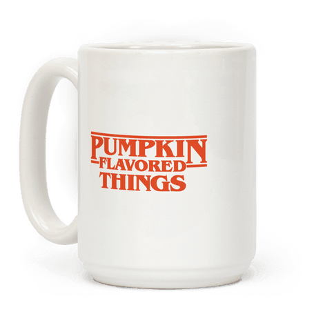 Pumpkin Flavored Things Parody