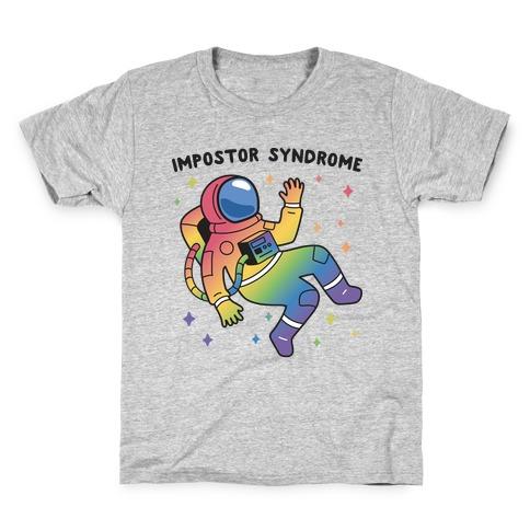 Impostor Syndrome Astronaut Kids T-Shirt