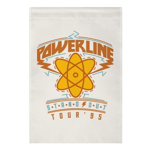 Powerline Tour Garden Flag