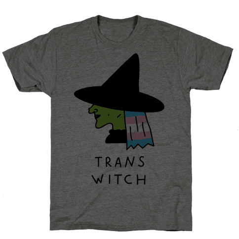 Trans Witch Mens T-Shirt