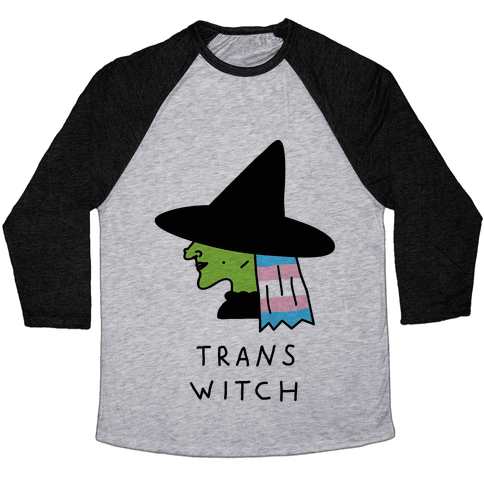 Trans Witch Baseball Tee