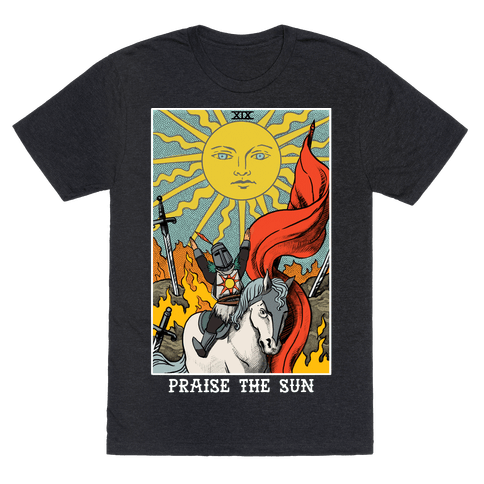 Praise The Sun Tarot Card - TShirt - 237.9KB