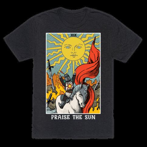 Praise The Sun Tarot Card