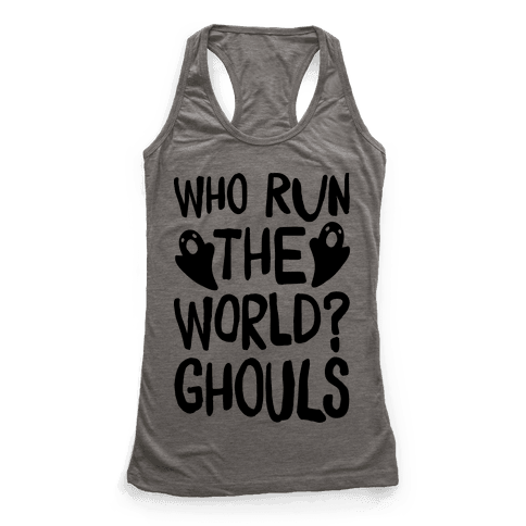Who Run The Word Ghouls Parody