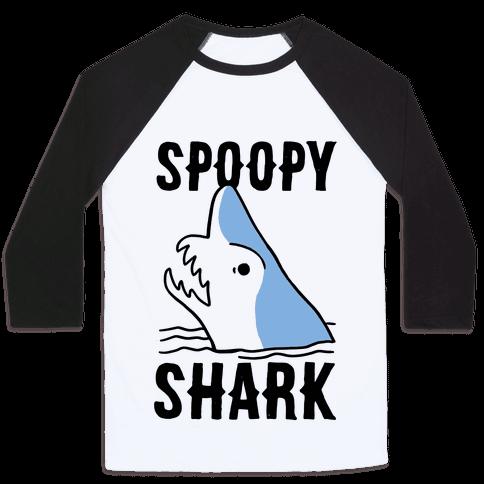 Spoopy Shark - Goblin Shark Baseball Tee