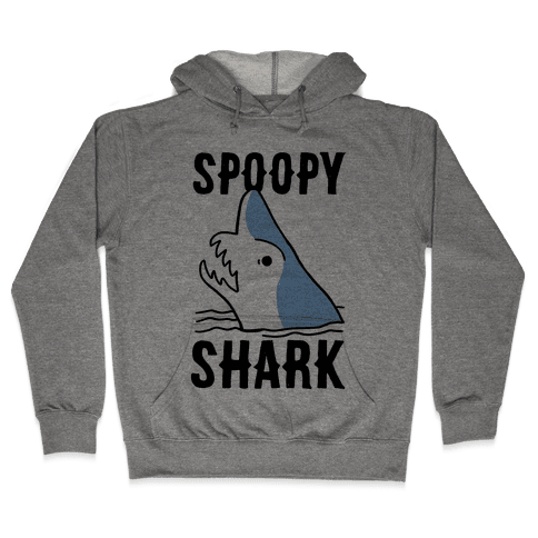 Spoopy Shark - Goblin Shark Hooded Sweatshirt