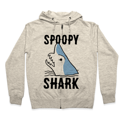 Spoopy Shark - Goblin Shark Zip Hoodie