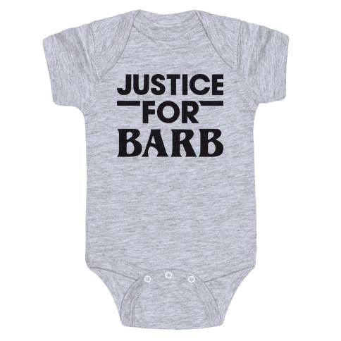Justice For Barb Baby Onesy