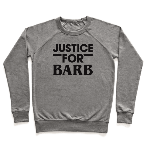 Justice For Barb Pullover