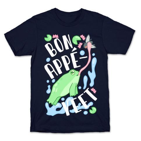 Bon Appe-YEET Frog T-Shirt