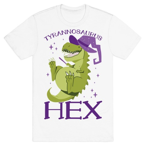 Tyrannosaurs Hex T-Shirt
