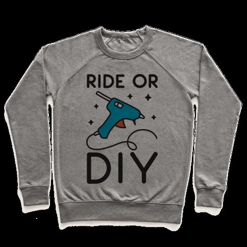 Ride Or DIY Pair 1/2 Pullover