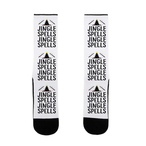 Jingle Spells Christmas Sock