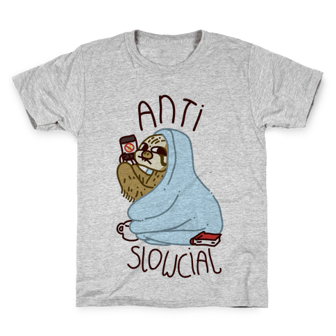Anti Slowcial Kids T-Shirt