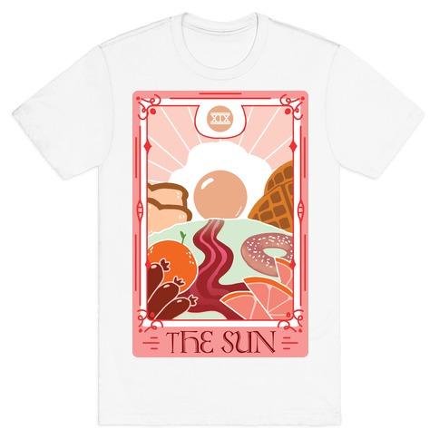 The Sun Breakfast Tarot T-Shirt
