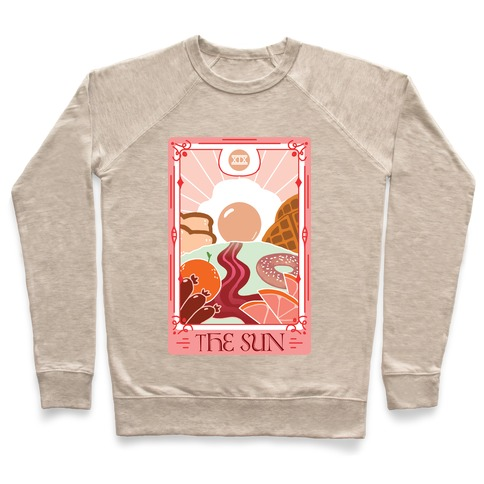 The Sun Breakfast Tarot Pullover
