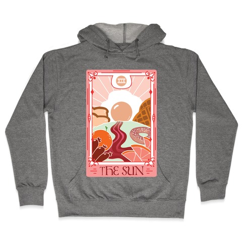 The Sun Breakfast Tarot Hooded Sweatshirt