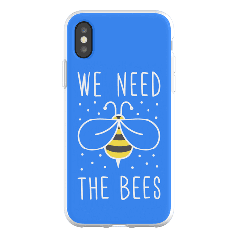 We Need The Bees Phone Flexi-Case