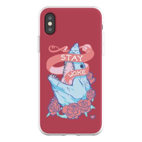 Stay Woke Shark Phone Flexi-Case