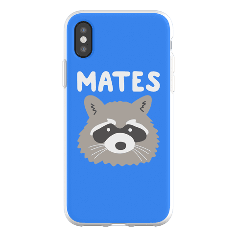 Trash Mates Pair - Raccoon 2/2 Phone Flexi-Case