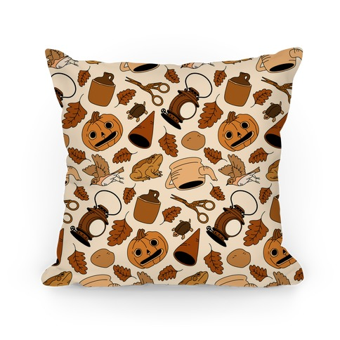 Into the Unknown Pattern Pillow