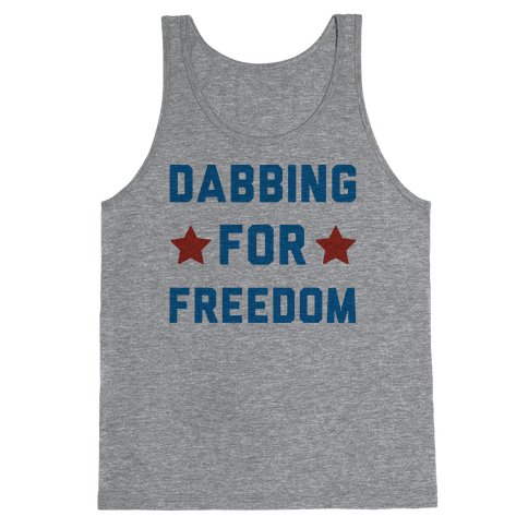 Dabbing For Freedom  Tank Top