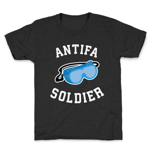 Antifa Soldier Kids T-Shirt