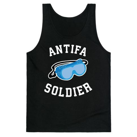 Antifa Soldier Tank Top