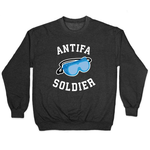 Antifa Soldier Pullover