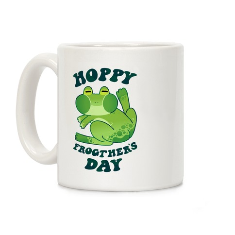 Hoppy Frogther's Day Coffee Mug