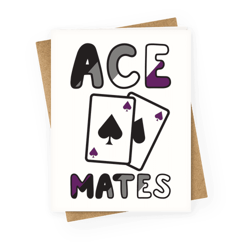 Ace Mates Greeting Card