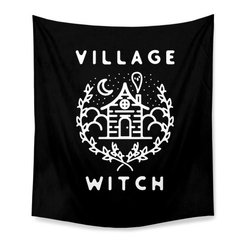 Village Witch Tapestry