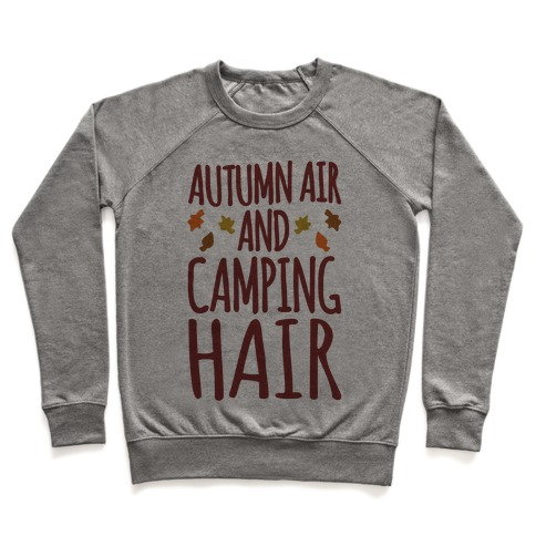 Autumn Air And Camping Hair Pullover