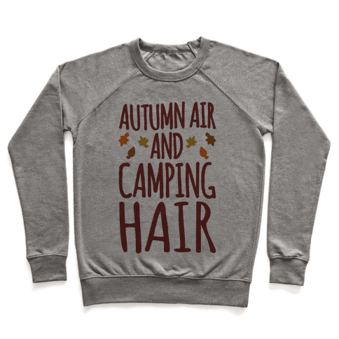 Autumn Air And Camping Hair