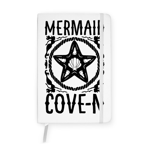 Mermaid Cove-n Notebook