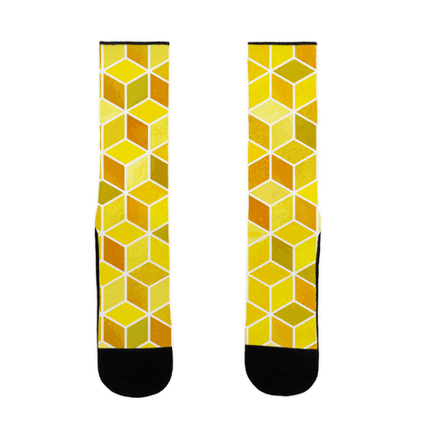 Honeycomb Pattern Sock