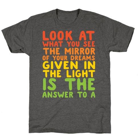 The Never Ending Story Lyric Pairs Shirts 2  T-Shirt