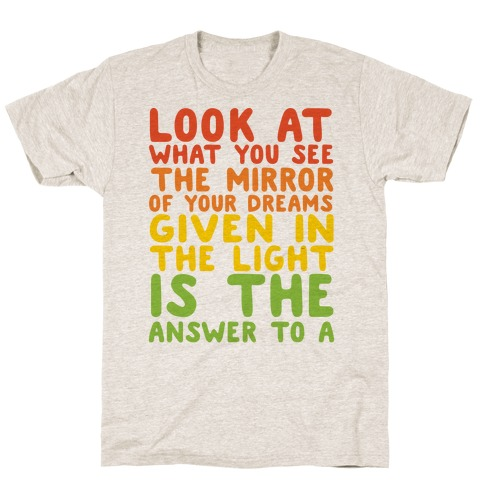 The Never Ending Story Lyric Pairs Shirts 2 T-Shirt