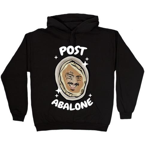 Post Abalone Hooded Sweatshirt