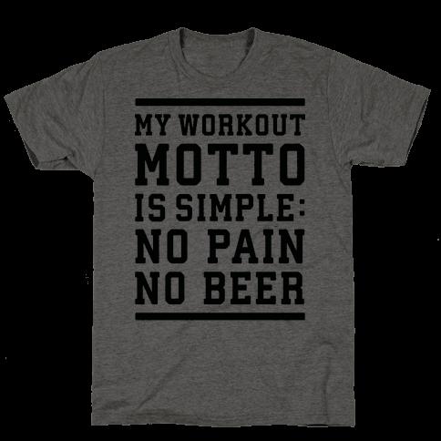 No Pain No Beer