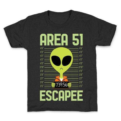 Area 51 Escapee Kids T-Shirt