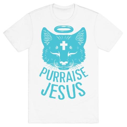 Purraise Jesus T-Shirt