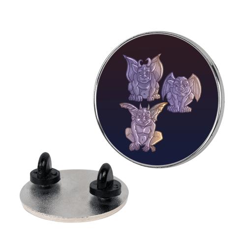 Gargoyles Pattern Pin