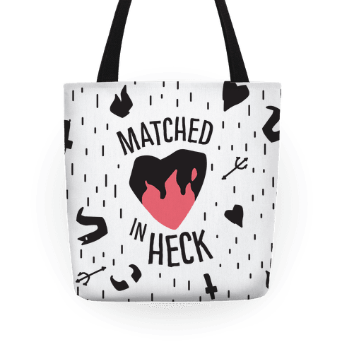 Matched in Heck Tote