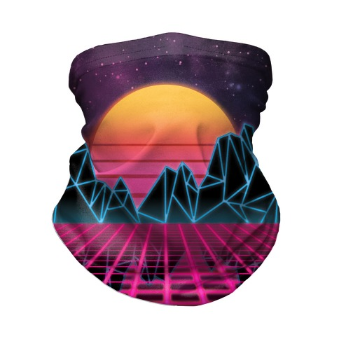 Synthwave Neck Gaiter