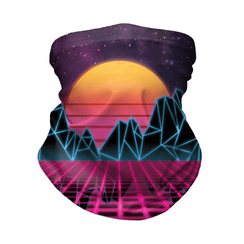 Synthwave Neck Gaiter