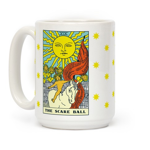 The Scare Ball Tarot Coffee Mug