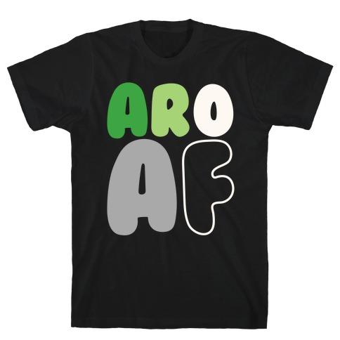 Aro Af White Print T-Shirt