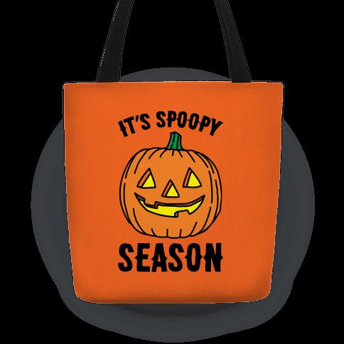 It's Spoopy Season Halloween Tote Bag Tote